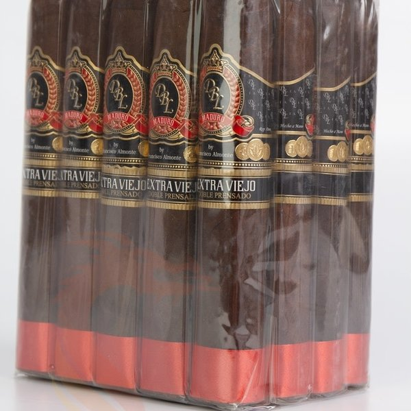 DBL Cigars DBL Extra Viejo Maduro Doble Prensado Toro Bundle of 20