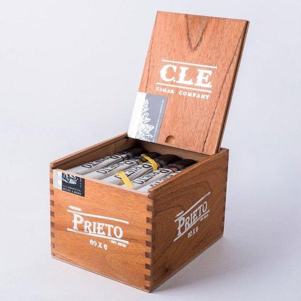 CLE Cigars CLE Prieto 6x60 Gordo Box of 25
