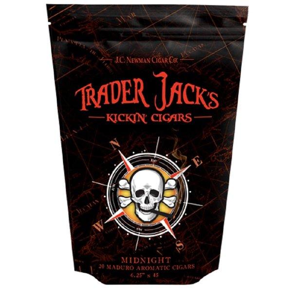 JC Newman/ Fuente Trader Jack's Midnight Kickin' Cigars Bag of 20