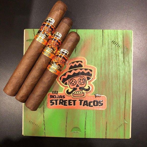 Rojas Rojas Street Tacos Barbacoa Toro Box of 16