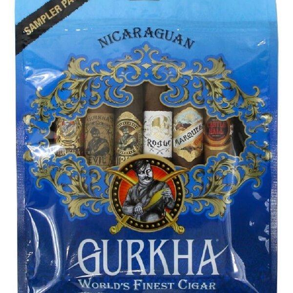 Gurkha Cigar Group, Inc Gurkha Nicaraguan Toro Sampler Pack- Blue Edition
