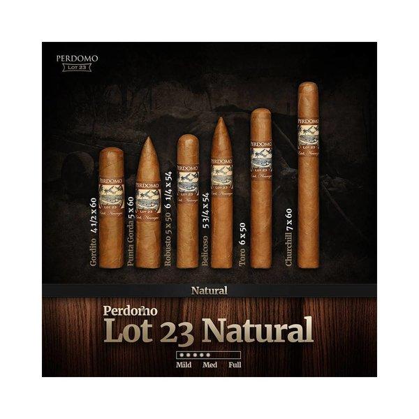 Perdomo Perdomo Lot 23 Natural Robusto