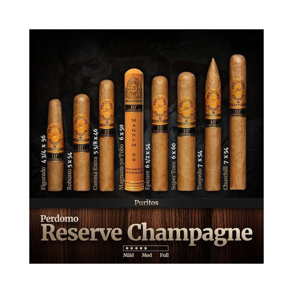 Perdomo Perdomo Reserve 10th Anniversary Champagne Epicure