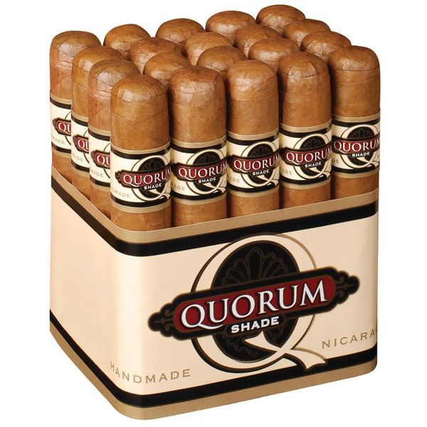 JC Newman/ Fuente Quorum Shade Robusto Bundle