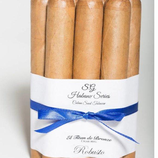 El Titan de Bronze El Cigar's Family Series S.G. 10 Pack Connecticut Robusto