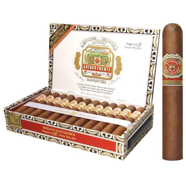 JC Newman/ Fuente Arturo Fuente Rosado Gran Reserva Sungrown Magnum R #56 Box of 25