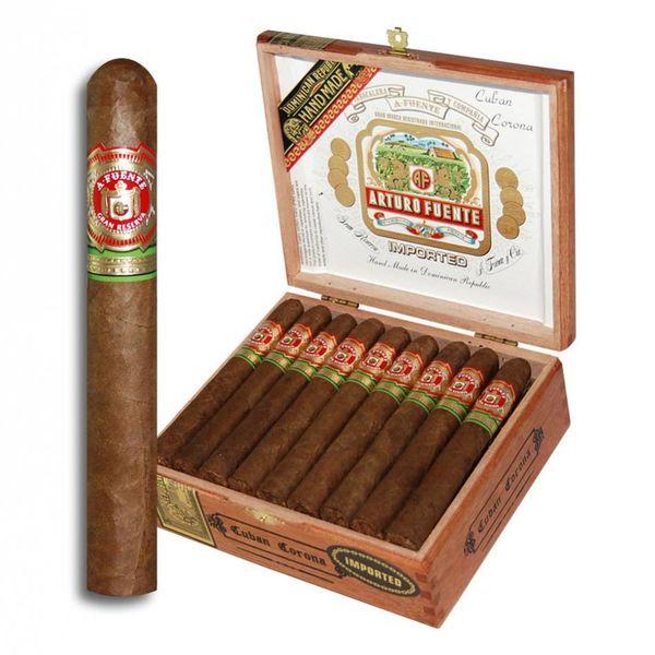 JC Newman/ Fuente Arturo Fuente Gran Reserva Cuban Corona Natural Box of 25