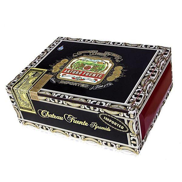 JC Newman/ Fuente Arturo Fuente Chateau Fuente Pyramid Box of 25