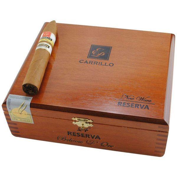 EP Carrillo E.P. Carrillo New Wave Reserva Connecticut Belicoso D'Oro Box of 24