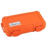 Cigar Caddy Cigar Caddy 5 Stick Blaze Orange Waterproof Travel Humidor