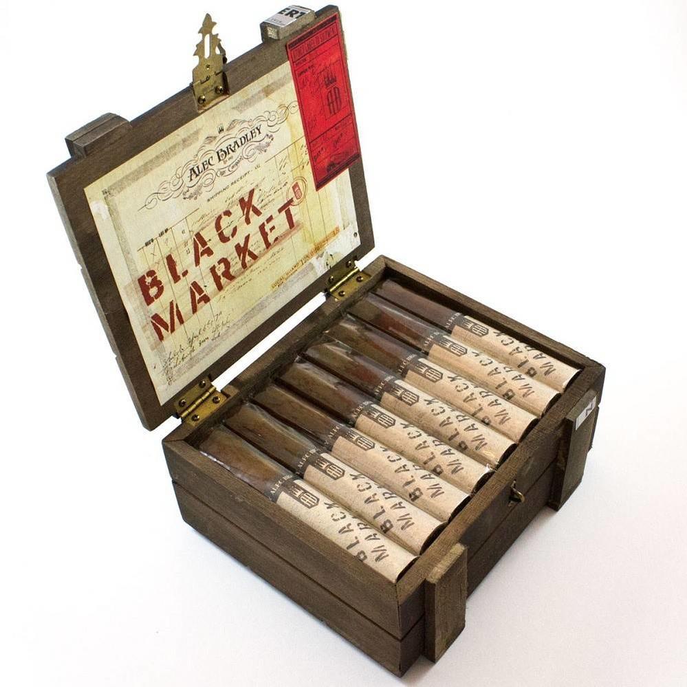 Alec Bradley Black Market Robusto Box of 22