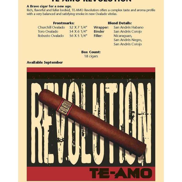 Te-Amo Te-Amo Revolution Robusto Box of 18