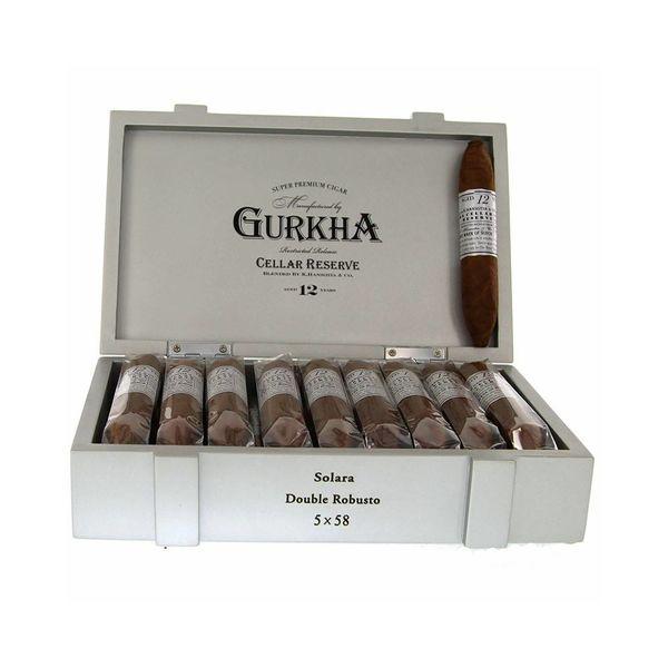 Gurkha Cigar Group, Inc Gurkha Cellar Reserve 12 Year Solara Double Robusto Box of 20