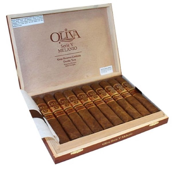 Oliva Oliva Serie V Melanio Double Toro Box of 10