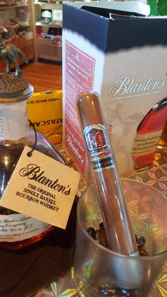 El Cigar's Family Series Sawyer- Blanton's Bourbon Infused