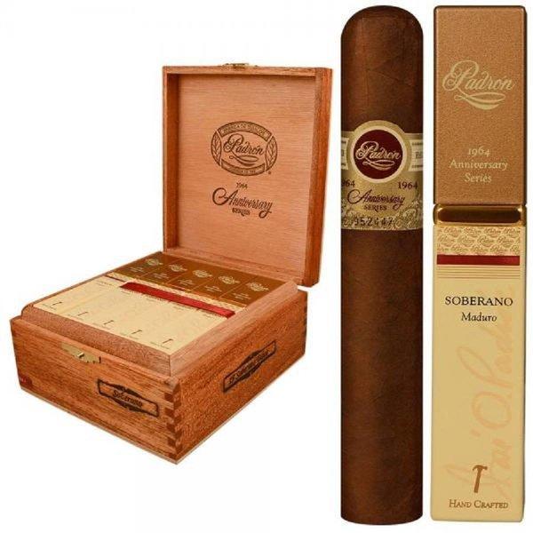 Padron Cigars Padron 1964 Soberano Maduro en Square Tubo