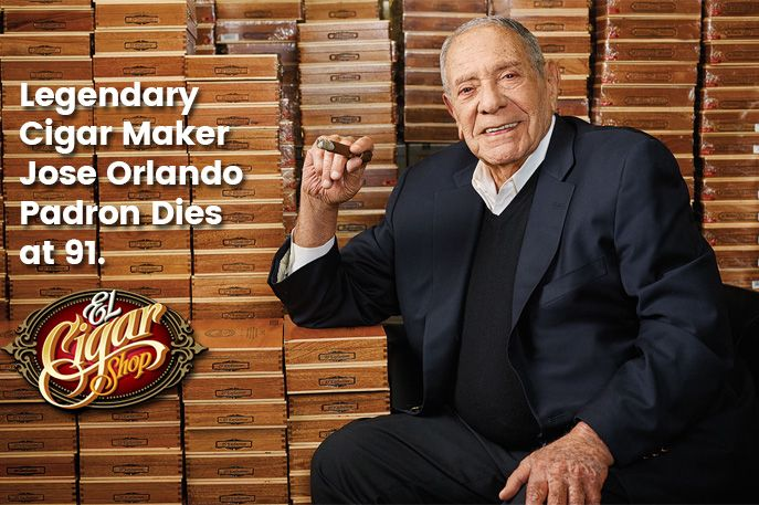 Legendary Cigar Maker Jose Orlando Padron Dies at 91