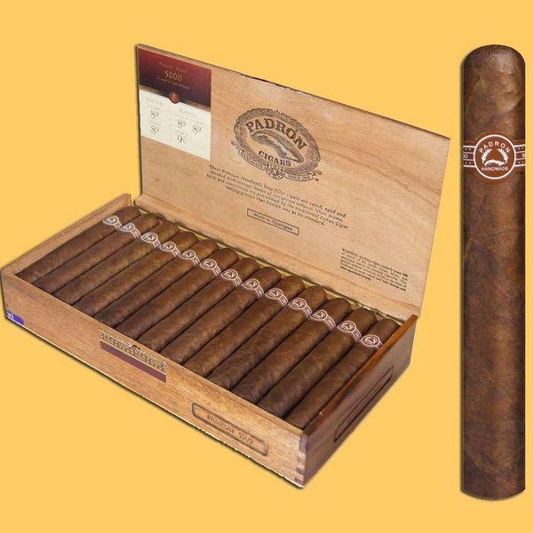 Padron Cigars Padron 5000 Natural Box of 26