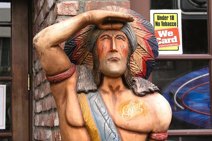The History Of The Cigar Store Indian The Demise Of An Icon El