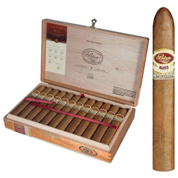 Padron Cigars Padron 1926 #2 Natural Box of 24