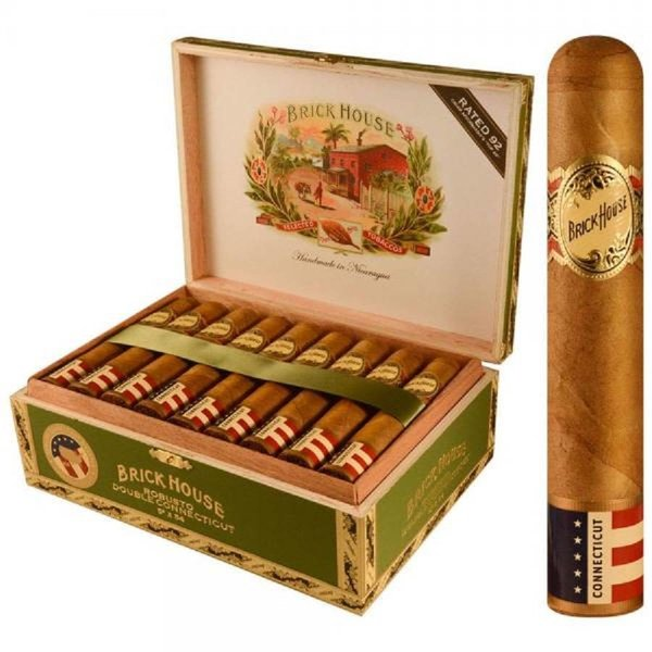 JC Newman/ Fuente Brick House Robusto Double Connecticut Box of 25