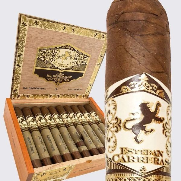 Esteban Carreras Esteban Carreras Mr. Brownstone Habano 6x60 Sesenta