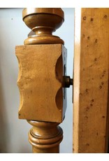 Cheval mirror - bird's eye maple