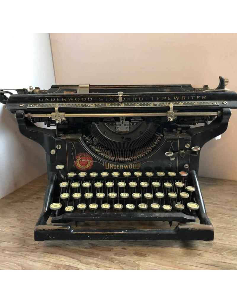 Typewriter - Underwood No. 3 - 5, serial number dates 1909, display only