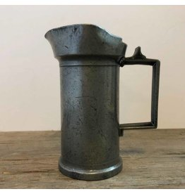 Pewter decilitre pitcher