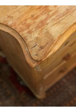 Dresser - stripped pine four drawer canadiana