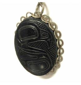 Argillite pendant