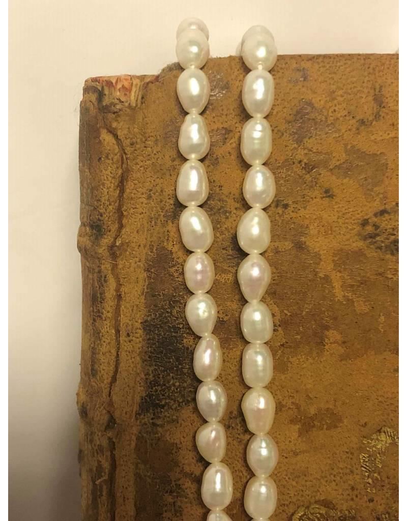 """Necklace - freshwater pearl, 30"""""""