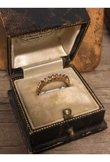 Ring - 10kt gold with diamonds, missing one