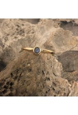 Ring - 10kt yellow gold & alexandrite, appraised value $550
