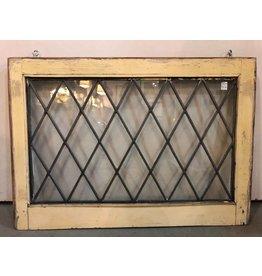 Leaded glass window