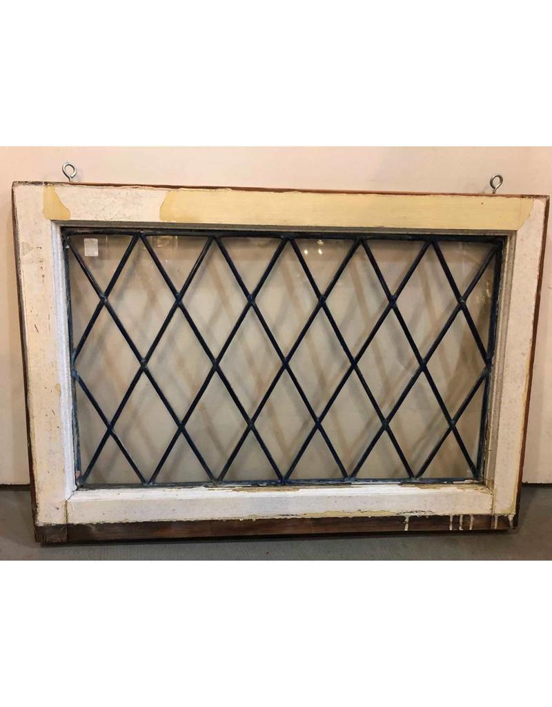 "Window - leaded glass, 30"" x 21"""