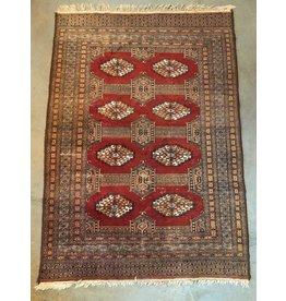 Vintage Bokhara carpet