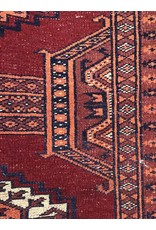 Carpet - Approx 4'x6' Bokhara, shows some wear and age, good quality