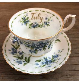 Royal Albert July cup and saucer