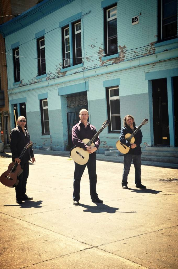 Win two tickets to the Montreal Guitar Trio!