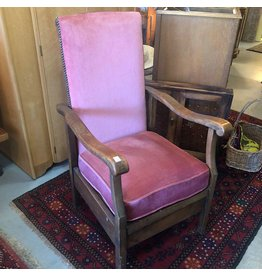 Upholstered reclining chair