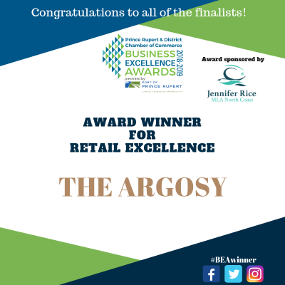 The Argosy is awarded for Retail Excellence!