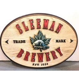Sleeman beer sign