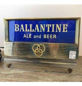Ballantine Ale sign