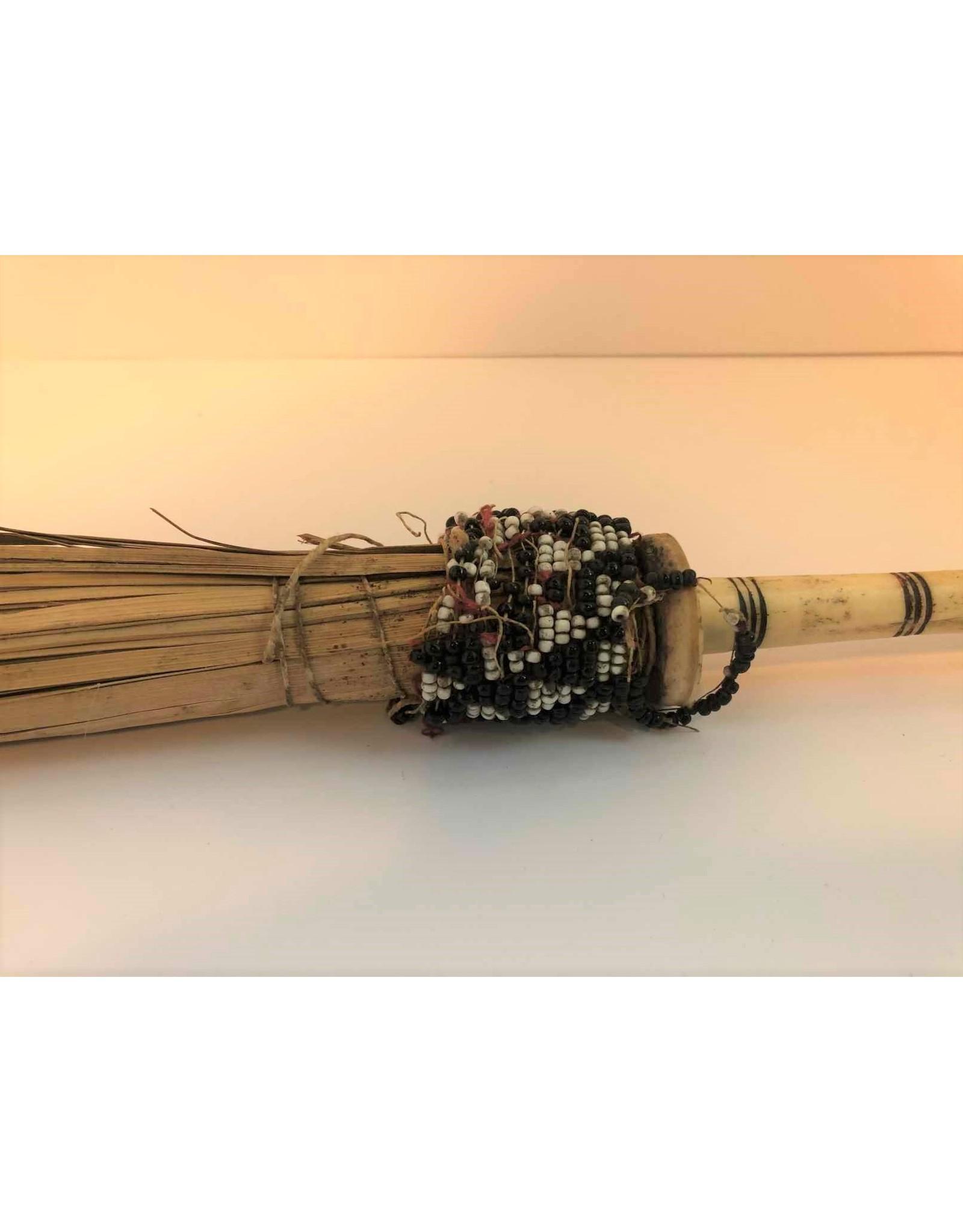 Bone handled tent brush - antique 100+ years old