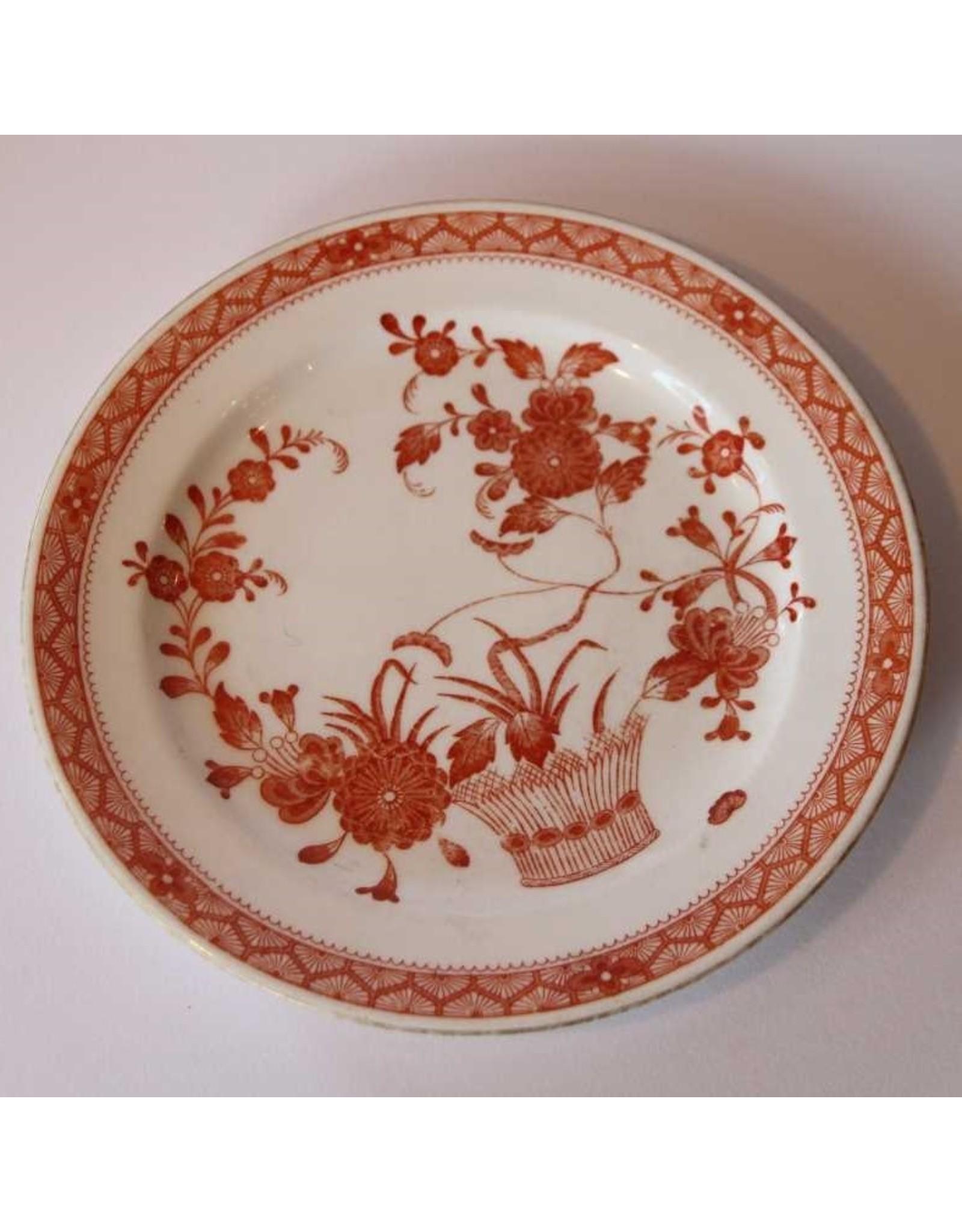 """Plate -Derby, """"Chandos"""" 1877-1880"""