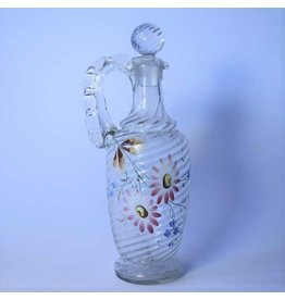Antique handblown decanter