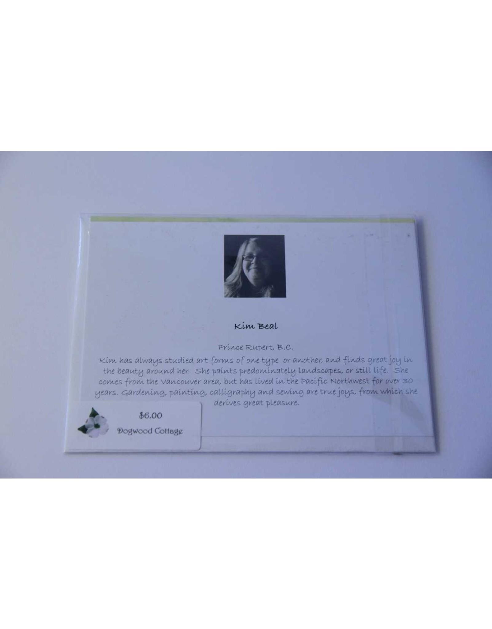 Kim Beal greeting card
