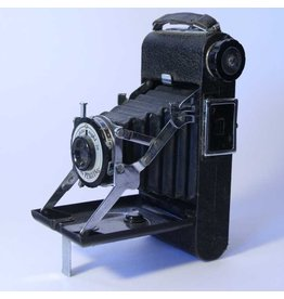 Folding antique camera