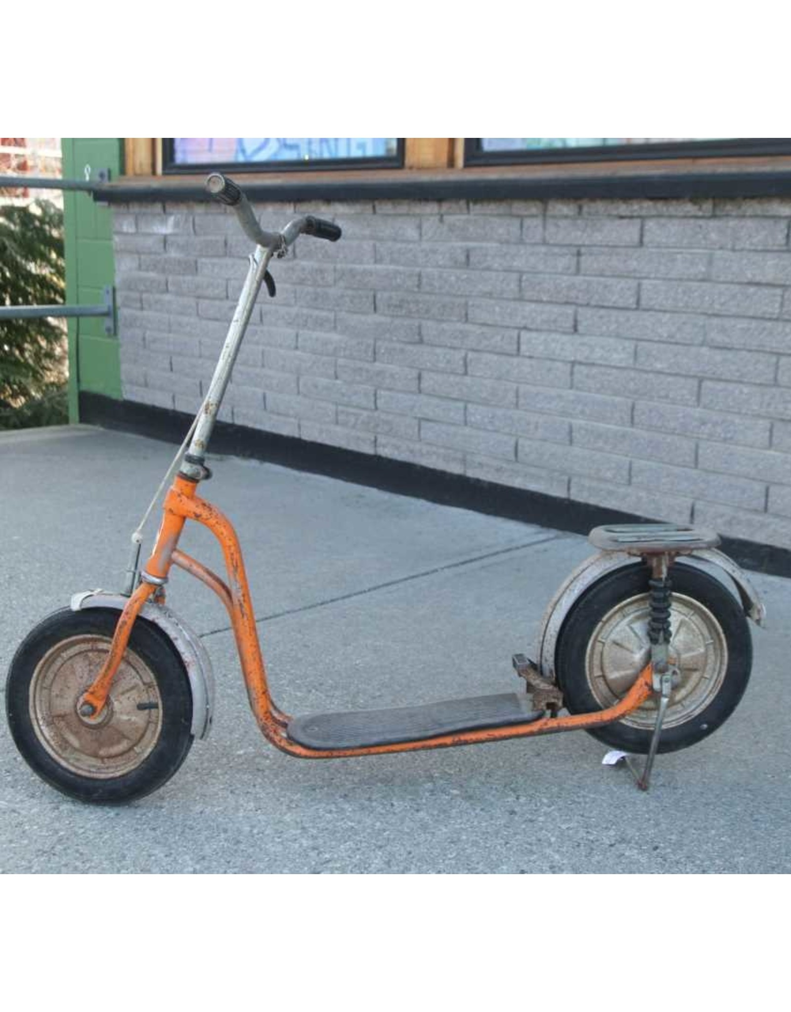 Scooter - Vintage Puky scooter, orange